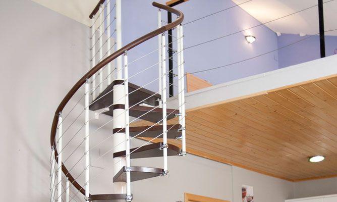 Escalera de caracol bricoman a - Escalera de caracol prefabricada ...
