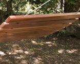 Crear una hamaca de madera