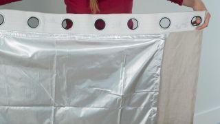 Forro térmico para cortina