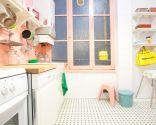 renovar cocina - cocina rosa