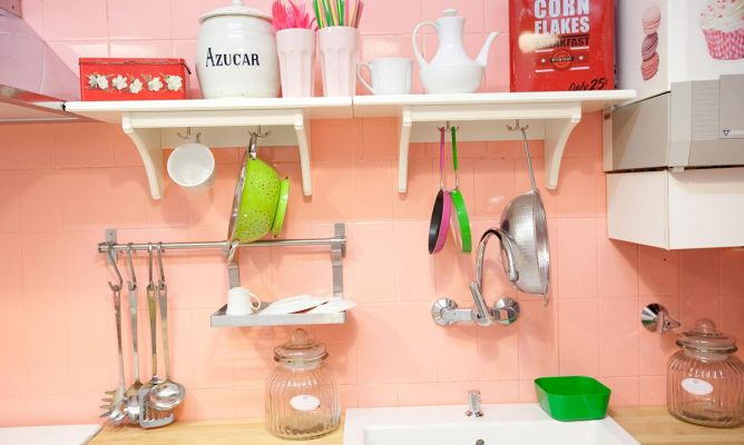 Organizar una cocina pequeña   hogarmania