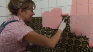 Renovar una cocina sin hacer obra, ¡en color rosa! - Paso 2