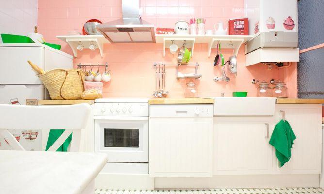 Renovar una cocina sin hacer obra decogarden - Cubrir azulejos sin obra ...