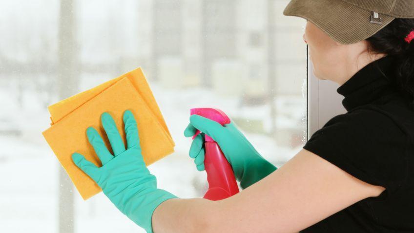 Limpiar los cristales de casa - Hogarmania