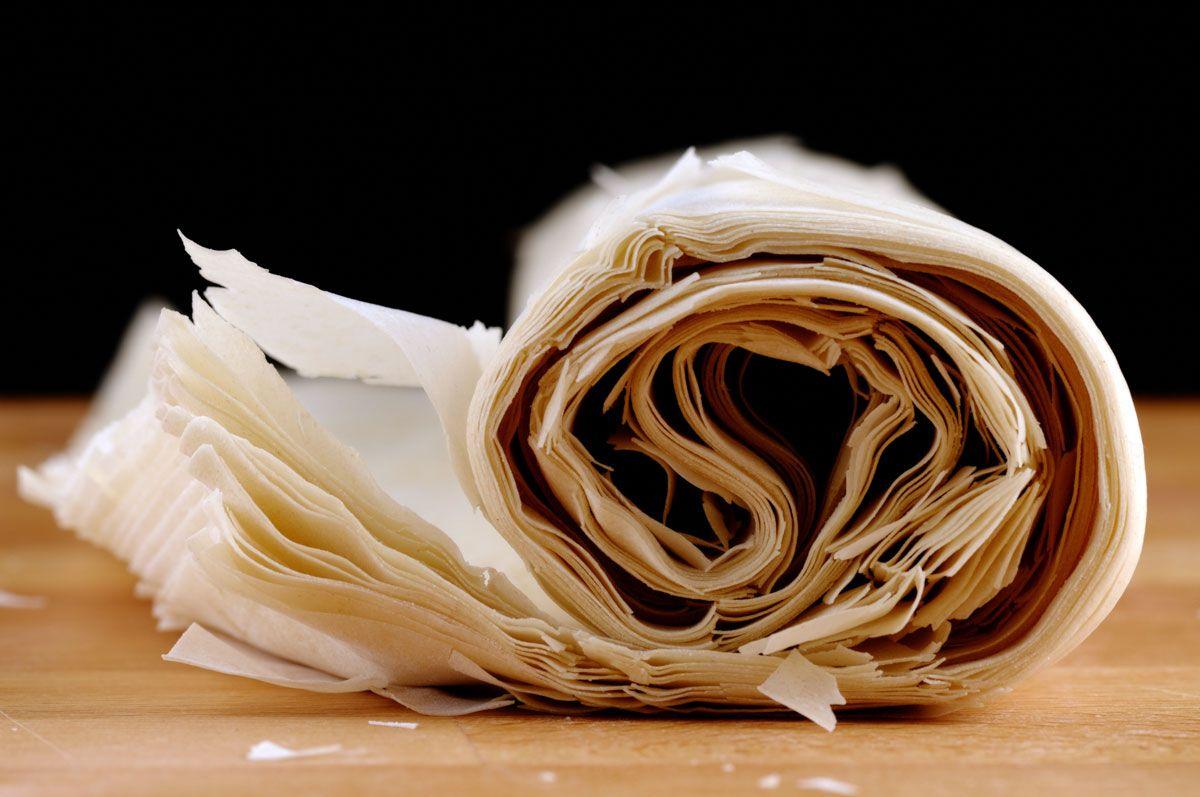 Pasta filo o masa filo