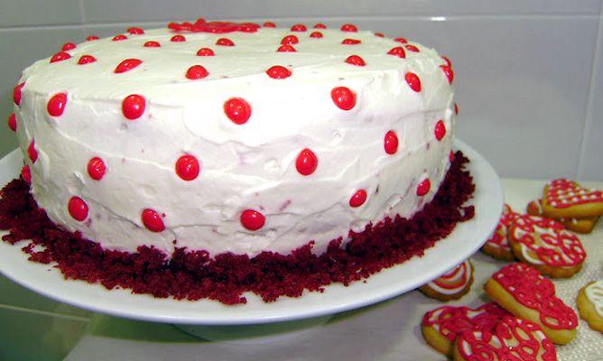 Receta De Red Velvet Cake O Tarta De Terciopelo Rojo