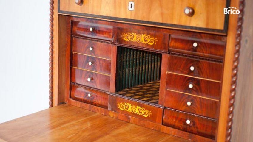 Como restaurar muebles antiguos de madera stunning cool - Como limpiar muebles de madera antiguos ...