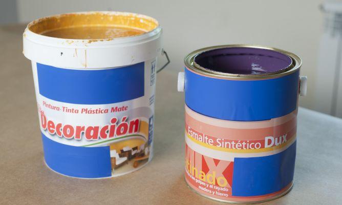 pintura al agua bricoman a