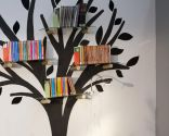 Estantería original: árbol de la lectura