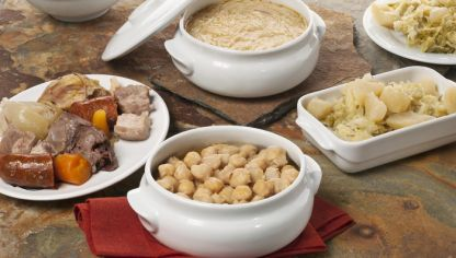 Receta de cocido madrile o karlos argui ano - Salsa para bogavante cocido ...
