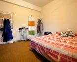 Dormitorio atrevido y diferente