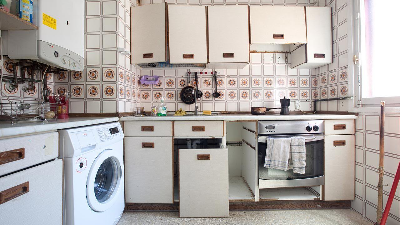 Reformar una cocina sin hacer obra puerta - Reformar la cocina sin obras ...
