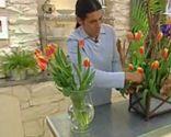 Terrario con tulipanes - Paso 3