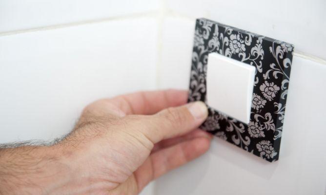 Sustituir embellecedor de interruptor el ctrico bricoman a - Embellecedores de luz ...