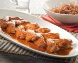 Alitas de pollo con salsa barbacoa