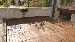 Revestir suelo de terraza