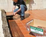 Revestir suelo de terraza bricoman a - Suelos para terrazas exteriores sin obra ...
