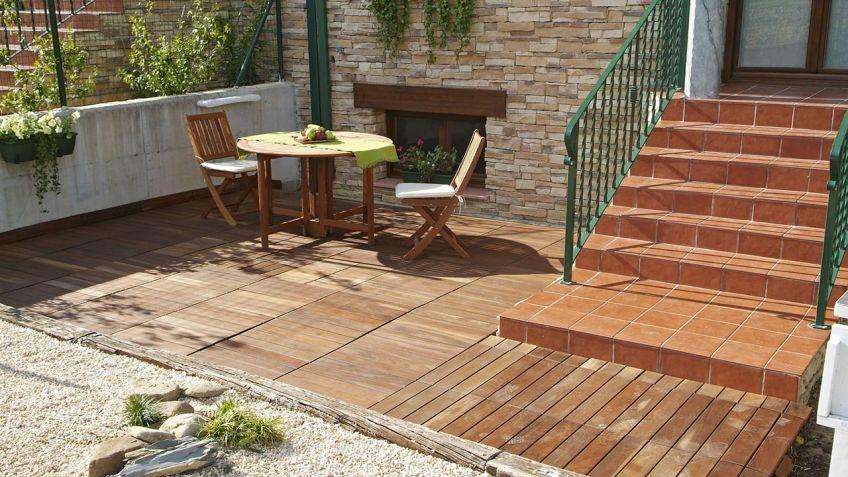 Revestir suelo de terraza - Bricomanía