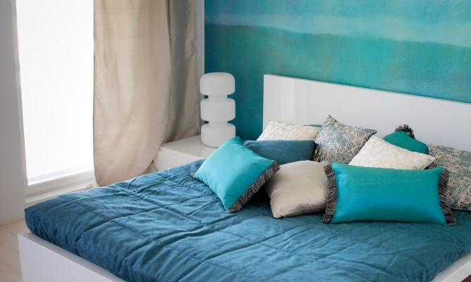 Colores para el dormitorio azul hogarmania - Colores relajantes para dormitorio ...