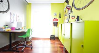 Decorar estudio con taller