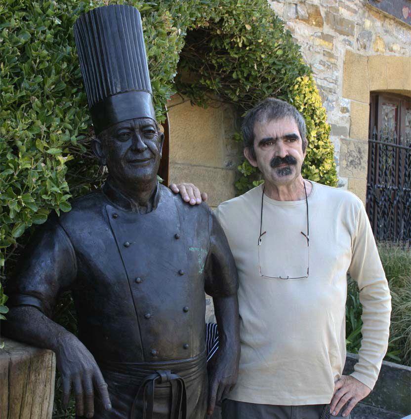 ¿Cuánto mide la escultura de Karlos Arguiñano? (Estatua) Escultura-karlos6-1280x720x80xX