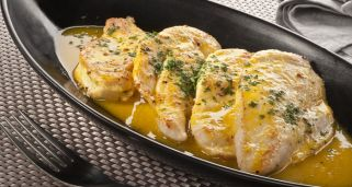 Filetes de pollo a la naranja