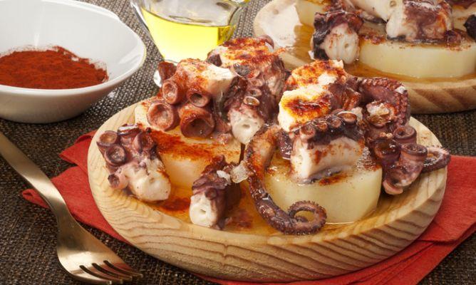 Receta de pulpo a la gallega con patatas bruno oteiza - Cocina gallega en madrid ...