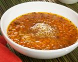 Sopa de calabaza, zanahoria e hinojo