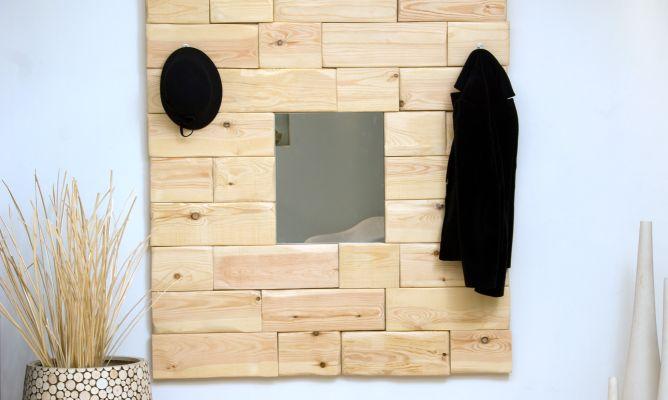 Espejo r stico para hall decogarden for Espejos para hall