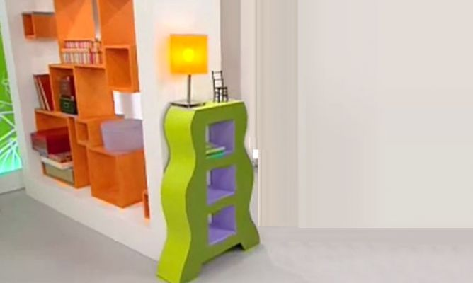 Crear mueble de cart n hogarmania for Programa para crear muebles 3d