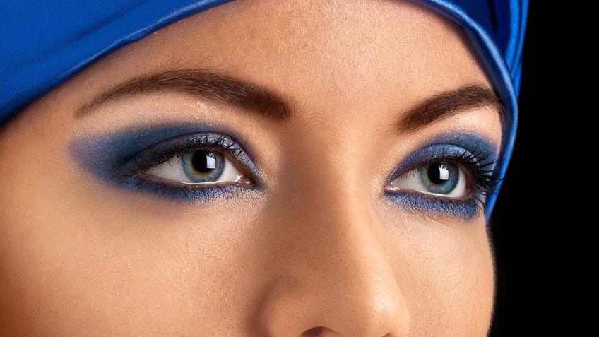 Que maquillaje usar para vestido azul
