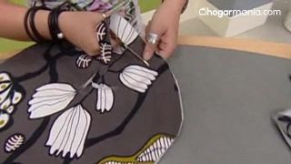 Cómo hacer un bolso de tela - Paso 4
