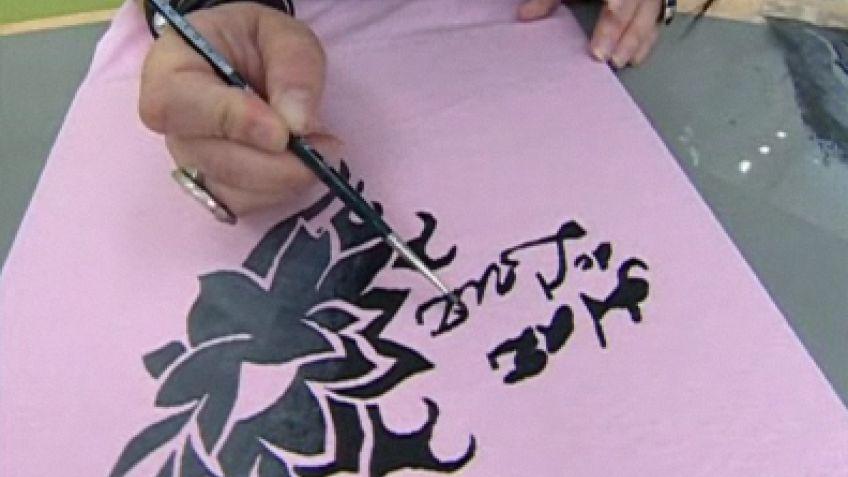 Cómo pintar una camiseta - Hogarmania 49576d4ca300f