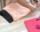 vestido y falda de tul