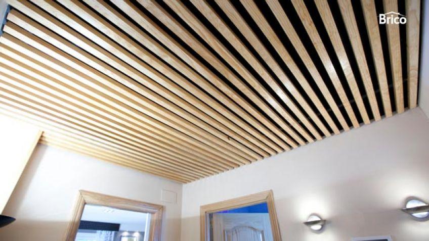 Falso techo decorativo Bricomana