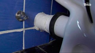 Renovar la fijación del inodoro