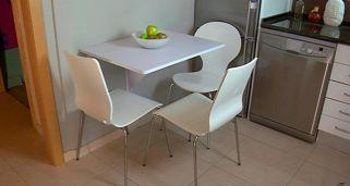 Mesa abatible, tareas de bricolaje para montar una mesa abatible