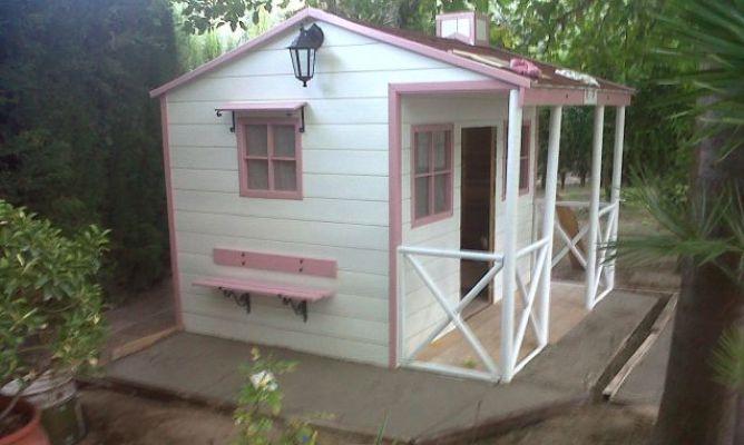 casita infantil para jardn