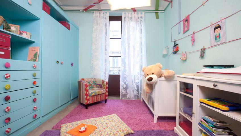 Elegant Habitación Infantil Alegre Y Divertida