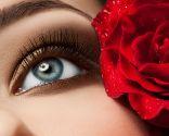 sombra ojos marrón