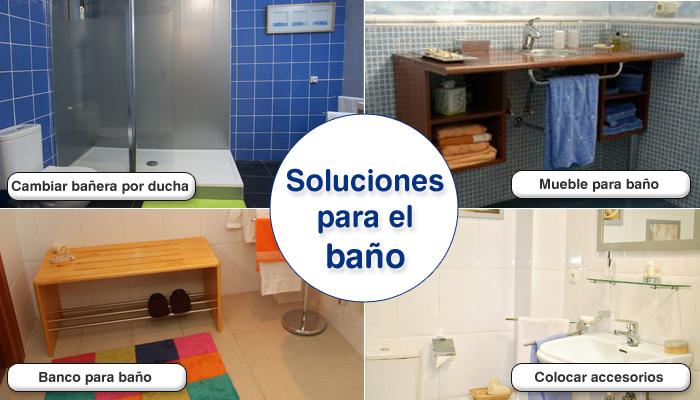 Bolet n de bricolaje soluciones para el ba o for Soluciones para banos