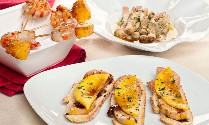Receta de c mo preparar aperitivos en 5 minutos bruno oteiza - Entremeses y aperitivos ...