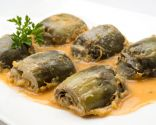 Alcachofas rebozadas con salsa española