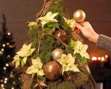 Paso 5 - Árbol de Navidad con poinsettia