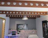 Instalación de vigas decorativas