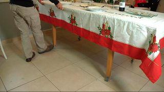 Colocar ruedas en patas de mesa