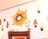 decorar el saln en navidad