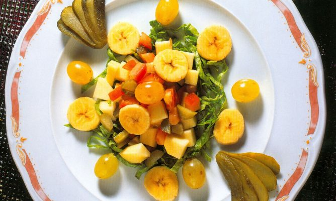 receta de ensaladas de verduras