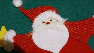 Calcetín de Navidad de fieltro - Paso 13