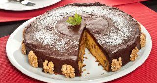 Receta De Bizcocho De Chocolate Con Forma De Arbol De